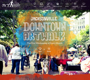 Jacksonville Art Walk Screenshot