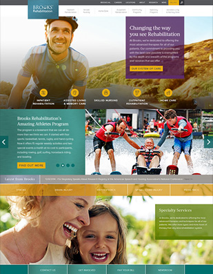 Brooks Rehab Website