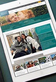 Brooks Rehab Website