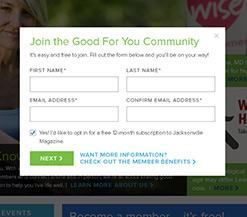 Good For You - Baptist Hospital Content Portal Website