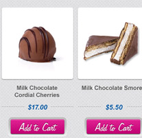 Peterbrooke Chocolate Website