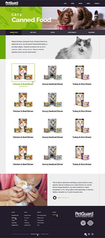 PetGuard Sample page