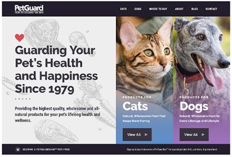 Original Pretguard homepage