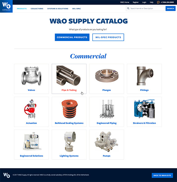 W&O Supply Catelog