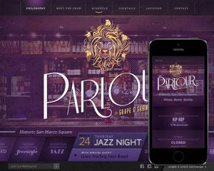 Bar & Lounge Web Design