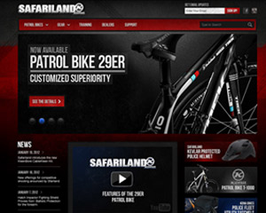 Patrol Bike Web Design & Application Development